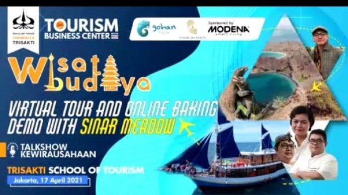 Promosikan Pariwisata di Tengah Pandemi, STP Trisakti Gelar Webinar Wisata Budaya