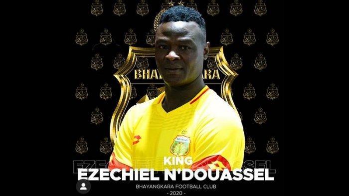 Ezechiel Diperkenalkan, Instagram Bhayangkara FC Banjir Komentar dari Warganet