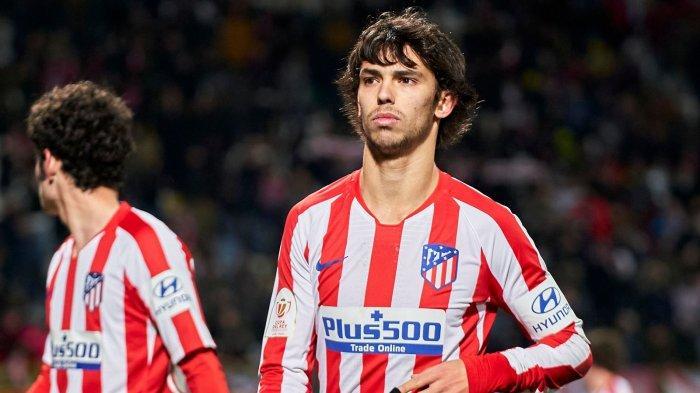 Striker Atletico Madrid, Joao Felix.
