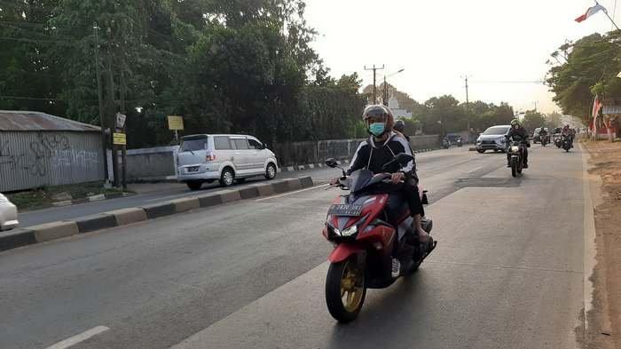 TRAFFIC UPDATE: Jalan Raya Parung Pagi Ini Lancar di Kedua Arah, Pengendara Diminta Tetap Hati-hati