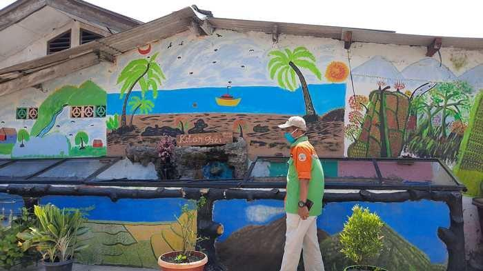 VIDEO: Dihiasi Lukisan dan Mural, Kampung di Kalideres Jadi Instagramable, Dananya Patungan Warga