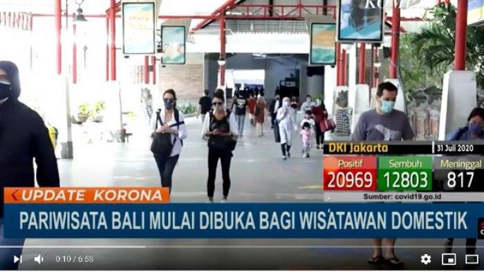 Pesona Tak Pudar oleh Covid-19, Bali Dikunjungi 4.000 Wisatawan Domestik saat Dibuka Kembali Jumat