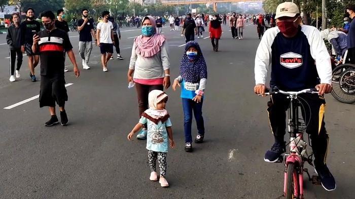 Balita dan PKL Muncul di Arena CFD Kota Bekasi, Kasatpol PP Akan Evaluasi