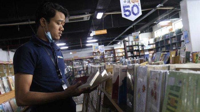 Imbas Pandemi Covid-19, Penjualan Buku di JakBook Pasar Kenari Menurun Drastis