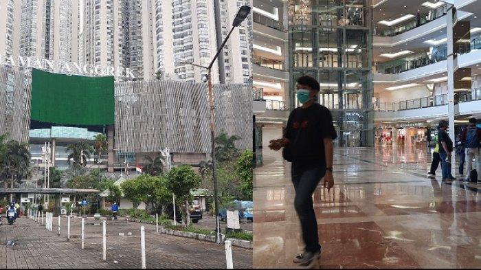 PPKM Diperpanjang, Mall Taman Anggrek Dibuka, Pengunjungnya Kebanyakan Ojek Online