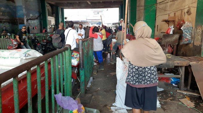 Pedagang Pasar Ciputat Mulai Direlokasi, Pedagang Mengaku Keberatan Biaya Sewa Sebesar Rp 300.000