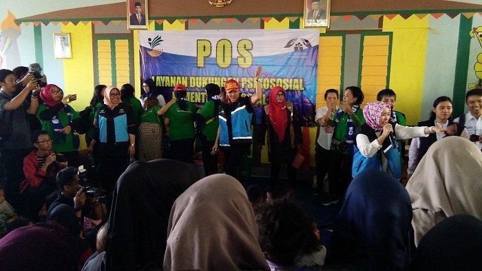 Posko Psikososial, Kesehatan, dan Air Bersih Didirikan di Kantor Kelurahan Rawa Buaya