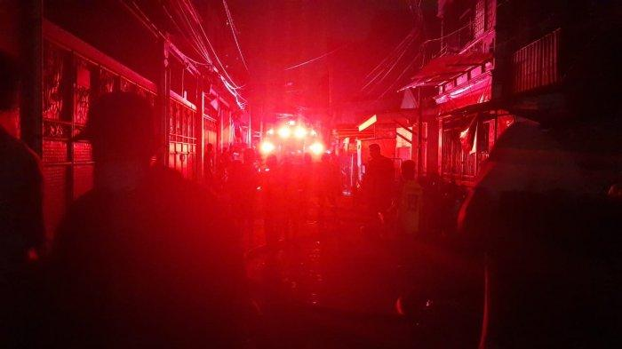 Gara-gara Lupa Matikan Kompor Ratusan Rumah di 4 RT di Kelurahan Keagungan Taman Sari Ludes Terbakar