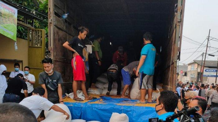 BNN Gerebek Gudang Narkoba di Kota Tangerang, Ditemukan 200 Kilogram Sabu dalam Karung Beras