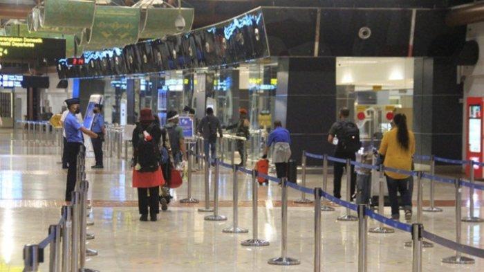 Personil Bandara Soekarno Hatta Ditambah, Prosedur Diperketat, 100 Lebih Penumpang Dilarang Terbang