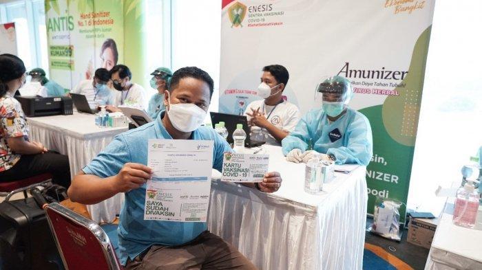 Kolaborasi Bersama Enesis Group, CFO Club Indonesia Ajak Pelaku UMKM Sukseskan Vaksinasi Covid-19