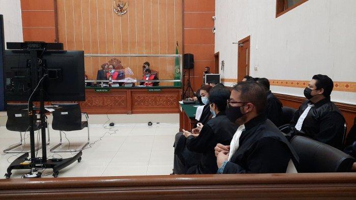 Suasana sidang perdana John Kei di Pengadilan Negeri Jakarta Barat pada Rabu (13/1/2021)