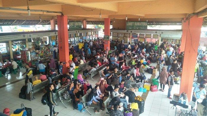 Terminal Kampung Rambutan Antisipasi Arus Balik Lebaran