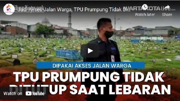 VIDEO TPU Prumpung Tidak Ditutup Selama Larangan Ziarah, Jadi Akses Jalan Warga