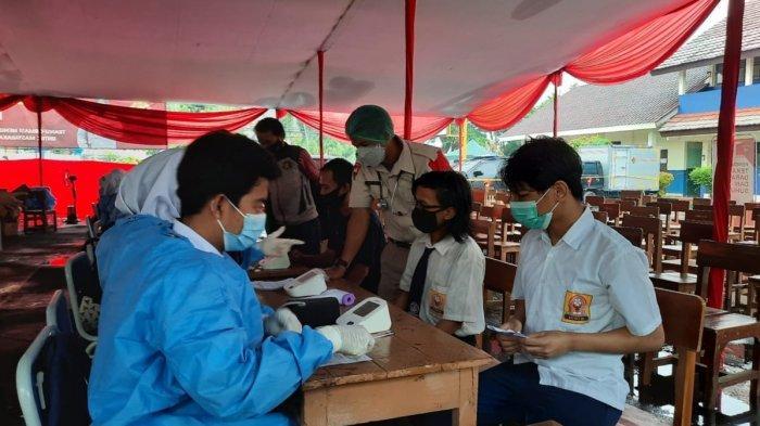 Gebyar Vaksin Bagi Pelajar Berjalan Mulus, 80 Persen Pelajar di Kota Depok Sudah Divaksin Covid-19