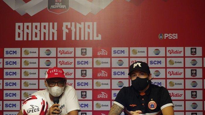 Gelandang Persija Jakarta Marc Klok Ingin Membawa Pulang Trofi Juara Piala Menpora 2021 ke Jakarta