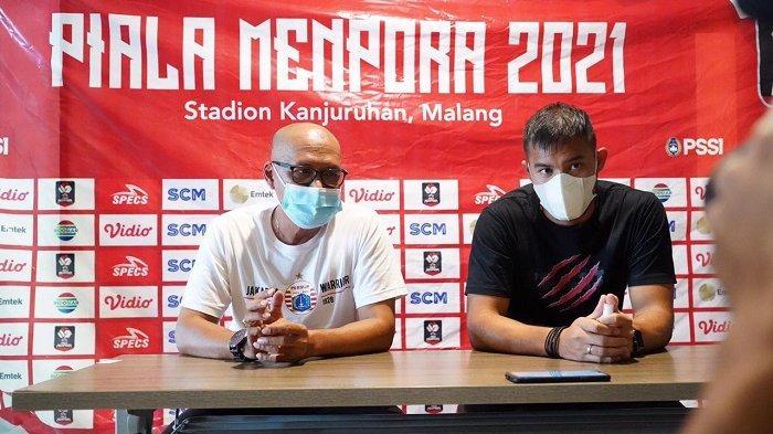 Kiper Persija Andritany Ardhiyasa Punya Ambisi Membawa Pulang Trofi Piala Menpora 2021 ke Jakarta