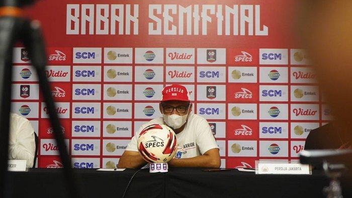 Pelatih Persija Jakarta Siapkan Eksekutor Adu Penalti saat Laga Kedua Melawan PSM di Piala Menpora