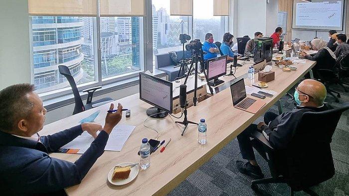 Rapat virtual diikuti oleh semua stakeholder klub peserta Liga 1 dan PT Liga Indonesia Baru
