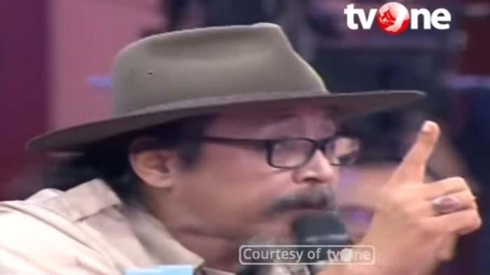 Tampil di ILC Sudjiwo Tedjo Sindir Soal Honor, Ternyata Segini Bayarannya, Karni Ilyas Hanya Senyum