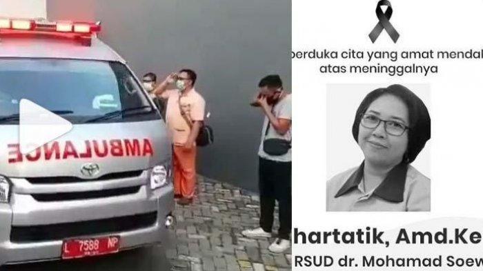 Setelah Ari Puspita, Satu Lagi Perawat di Surabaya Meninggal Dunia karena Corona, Namanya Suhartatik