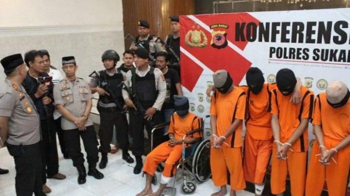 BACOK Anak Tokoh Masyarakat Sukabumi, Polisi Tembak Dua Anggota Geng Motor Pelaku Penganiayaan