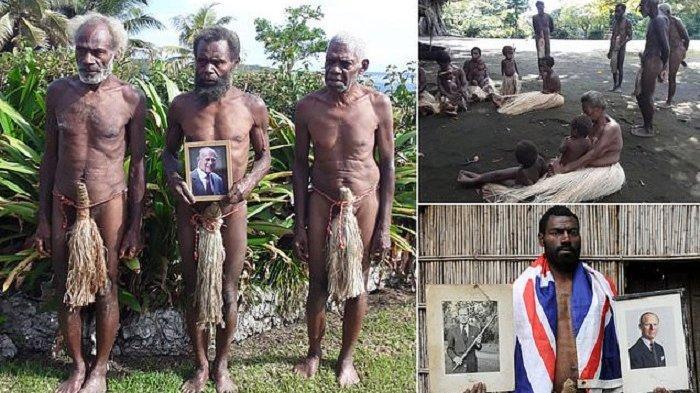 PANGERAN Charles Disembah Suku Yaohnanen Pasifik Selatan setelah Pangeran Philip Meninggal