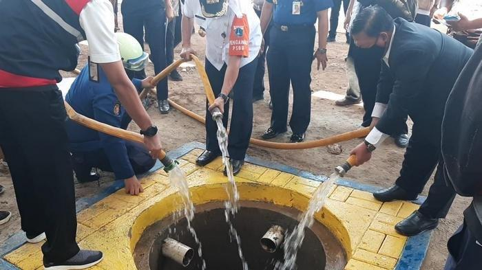 DPRD Ragukan Target Sumur Resapan Anies Baswedan, Target 1,8 Juta Baru Dibuat 2.974 Sumur Resapan