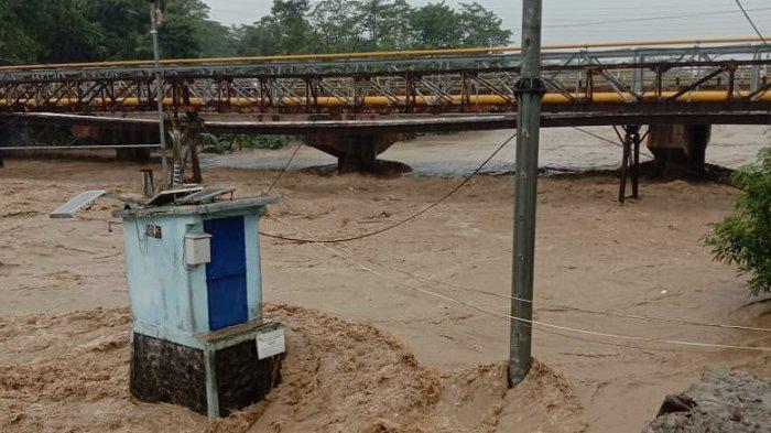 Hujan Awet, Begini Kondisi Tinggi Muka Air Sungai Cikeas dan Cileungsi