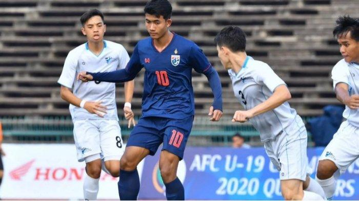 Pesta 21 Gol Timnas Thailand ke Gawang Timnas Kepulauan Mariana Utara di Piala Asia U-19