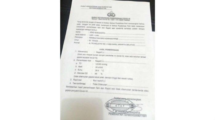 TERUNGKAP! Djoko Tjandra Ternyata Adalah Konsultan Bareskrim Polri dan Berkantor di Trunojoyo