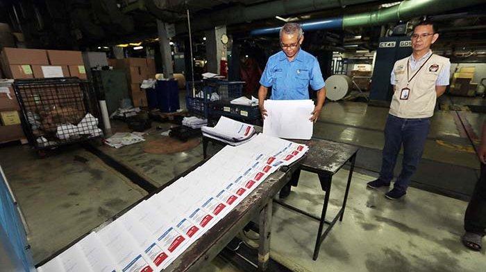 Foto : PT Gramedia Cetak Surat Suara Tambahan Atas Amanat Putusan MK