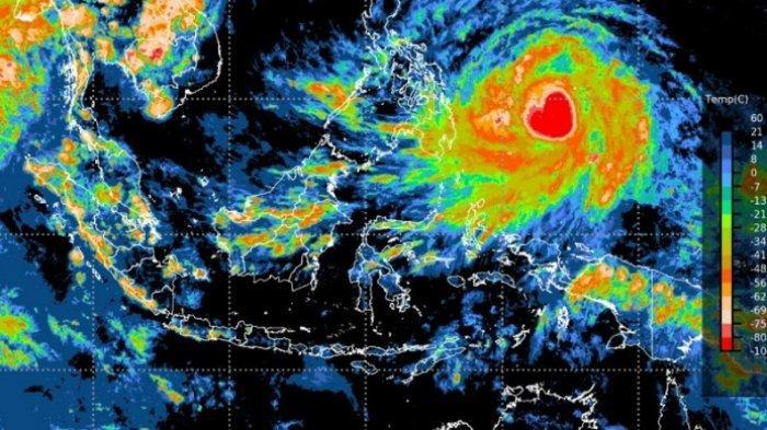 BMKG: Waspadai Cuaca Ekstrem Akibat Badai Tropis Kuat Surigae yang Berpeluang Meningkat Jadi Topan