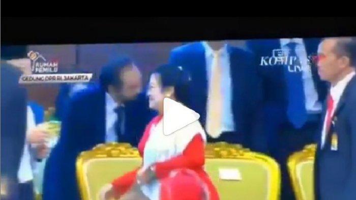 Ini Pesan Surya Paloh Soal Sikap Megawati yang Tak Menyalaminya di Pelantikan DPR RI