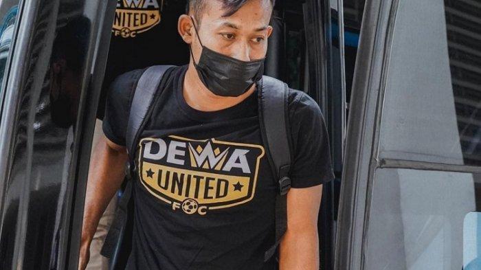Gelandang Dewa United FC Siap Tampil Maksimal Lawan Sang Mantan