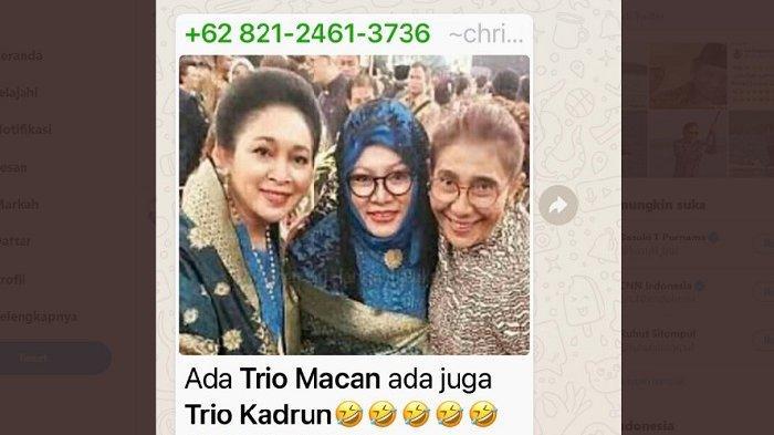 PENYEBAR Foto Viral Susi Pudjiastuti-Anies Baswedan Pasangan ASU dan Kadrun Akhirnya Beri Jawaban