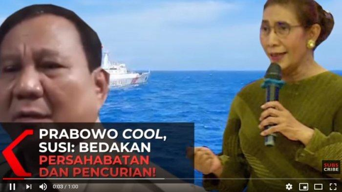 Susi Pudjiastuti Kritik Cara Padang Prabowo Soal Natuna, Bedakan Pencurian Ikan dan Persahabatan