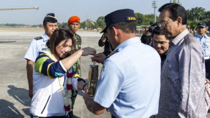 Api Asian Games 2018 Dikawal TNI AU Mengelilingi Indonesia