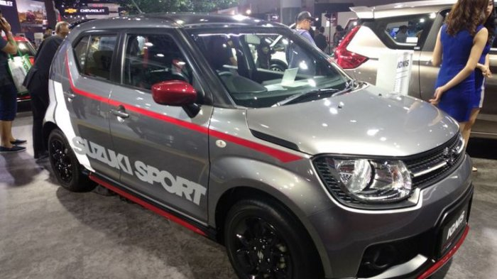 Pembeli Suzuki Ignis Sport Bisa Desain Sendiri Stiker Body