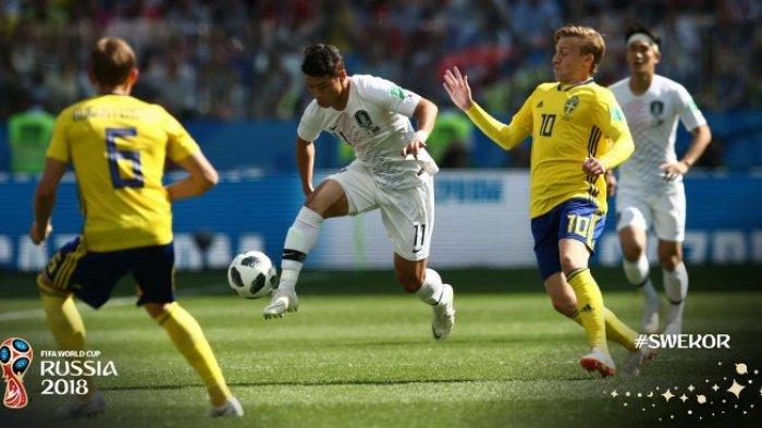 Teknologi VAR Berikan Andil Kemenangan Swedia Atas Korea Selatan