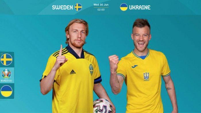 PREVIEW Swedia Vs Ukraina: Dua Tim Underdog Perebutkan Tiket Perempat Final