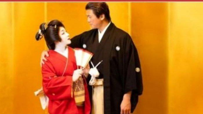 Syahrini Bikin Pangling Pakai Busana dan Dandan Ala Geisha, Rayakan Ulang Tahun Pernikahan di Jepang