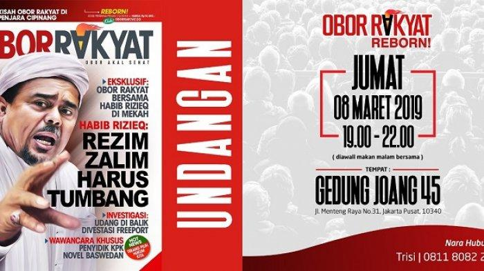 BREAKING NEWS: Tabloid Obor Rakyat Terbit Lagi, Liputan Pertama Wawancara Habib Rizieq