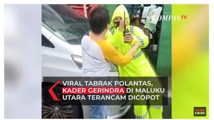 Dianggap Arogan Tabrak Polantas, Anggota DPRD Malut dari Partai Gerindra Terancam Dipecat DPP