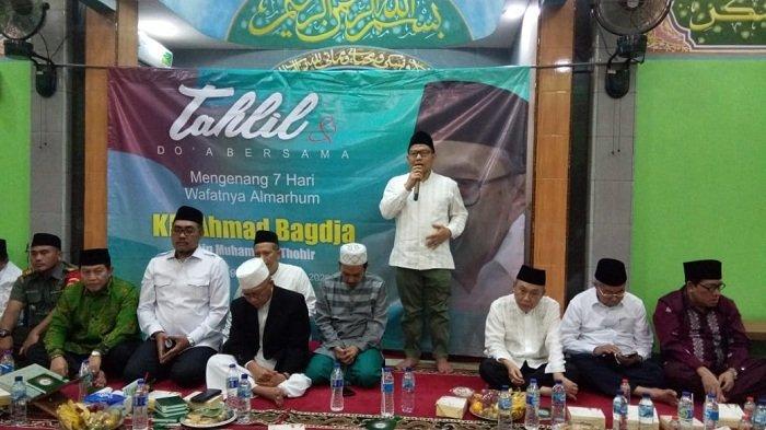 Warga NU Gelar Tahlil dan Doa Bersama Almarhum KH Ahmad Badja, Hadir Gus AMI, Nusron Hingga Menaker