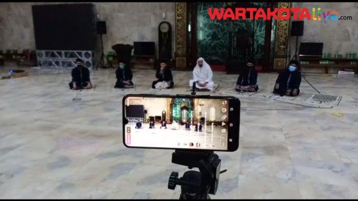 VIDEO: Begini Suasana Takbir Virtual di Masjid Sunda Kelapa