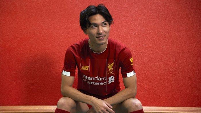 Takumi Minamino, pesepakbola Jepang yang bermain di Liverpool dan sedang dipinjamkan ke klub Southampton musim ini