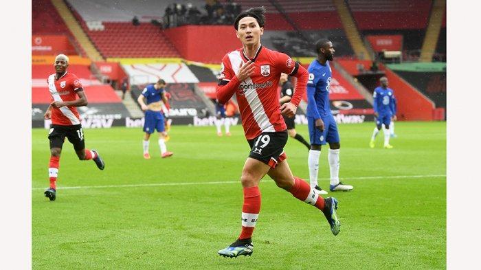 Takumi Minamino Mencetak Gol Lagi Saat Jadi Pemain pinjaman di Southampton
