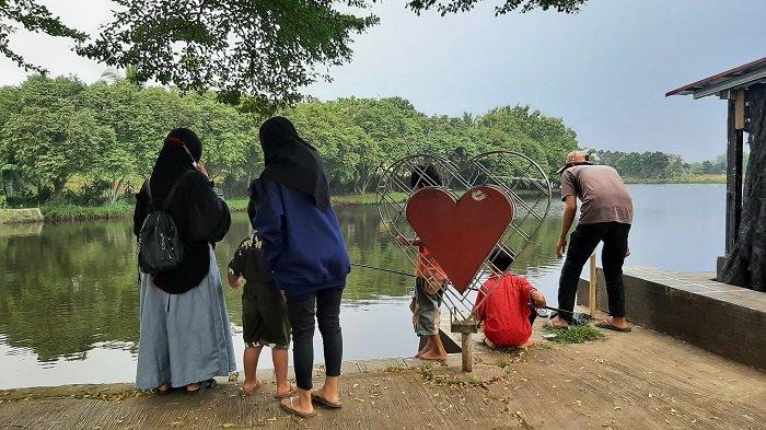 Taman Cinta Kemuning Bojonggede Bogor Jadi Lokasi Favorit Ngabuburit saat Ramadan