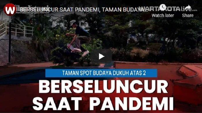 VIDEO Komunitas Skateboard, Berselancar Saat Pandremi di Taman Spot Budaya Dukuh Atas 2